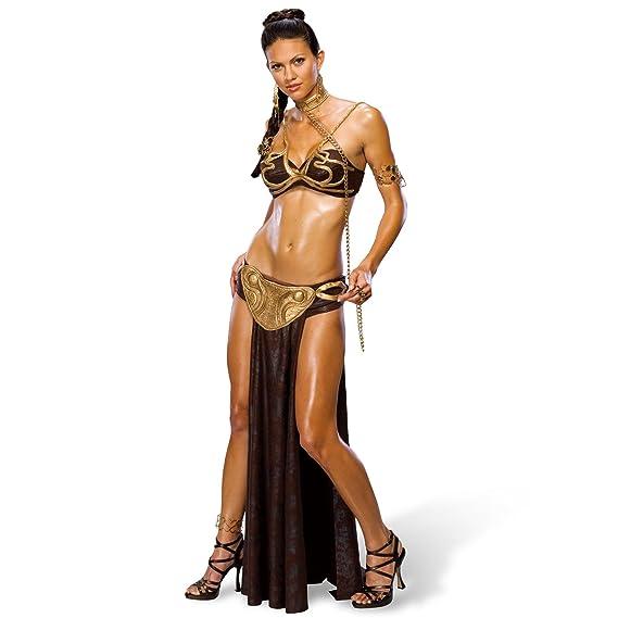 Star Wars - disfraz de la princesa Leia esclava - traje sexy ...