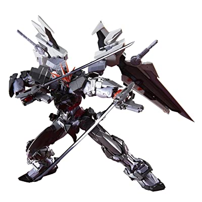 Bandai Spirits Gundam Astray Gundam Astray Noir, Bandai Hi-Resolution Model 1/100, Multicolor: Toys & Games