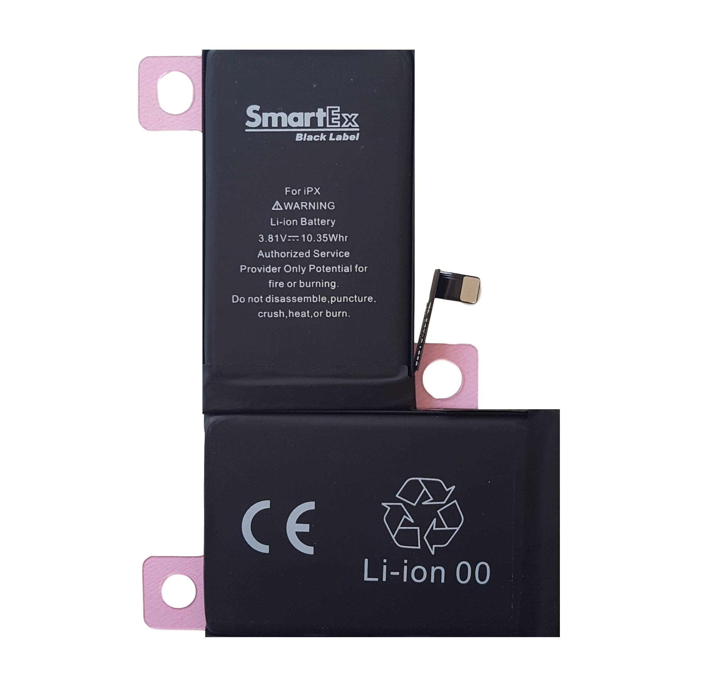 2019 Ann/ée Smartex/® Black Label Batterie Compatible avec iPhone 7-1960 mAh
