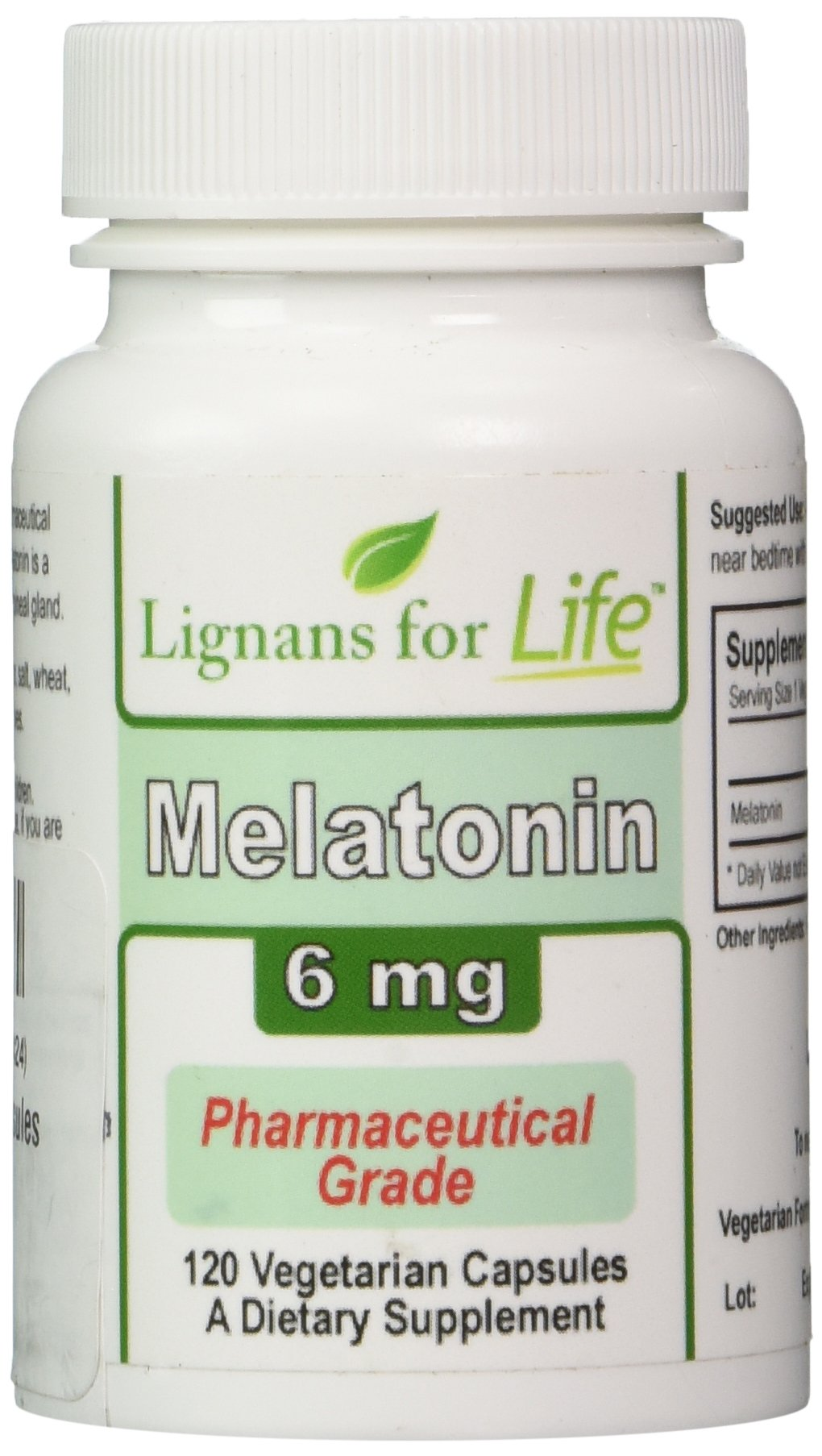 Melatonin 6 mg 120 Capsules