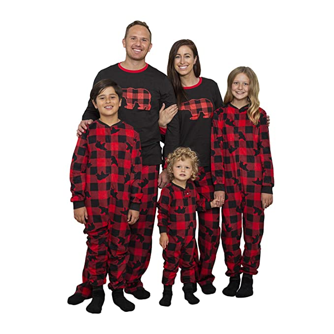 Family Christmas Pajamas With Dog.Mad Dog Concepts Matching Set Family Christmas Holiday Pajamas Slipper Socks