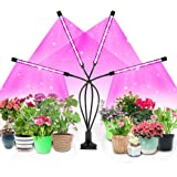LED Grow Light for Indoor Plants, 4WDKING 40W Full Spectrum Plant Growing Lamps with Auto ON/Off Timer 10 Level Brightness 3
