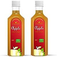 Neuherbs 100% Natural Apple cider Vinegar for Weight Loss 350 ml (Pack of 2)