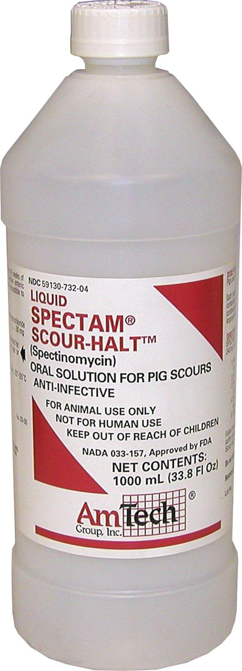 SPECTO-GARD SCOUR CHECK FOR PIGS - 1000 MILLILITER