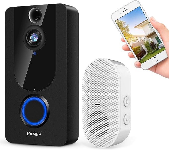 Details about  /1080P Wireless Doorbell WiFi Video Smart Door Phone Kit Security HD Camera Bell