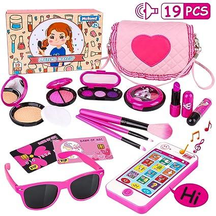 Amazon.com: Kit de maquillaje para niñas: Maquillaje para ...