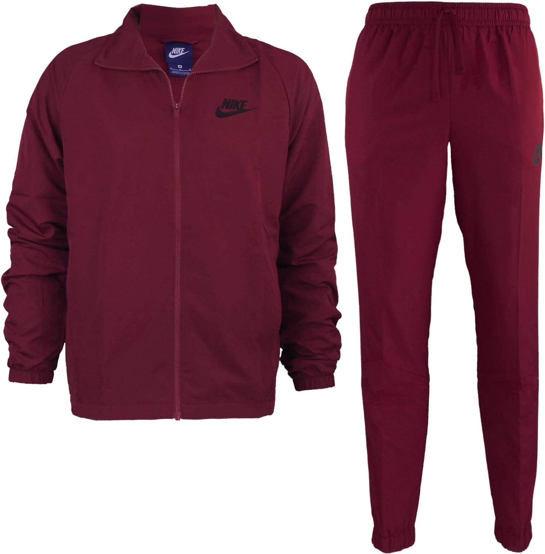 Nike Men Sportswear Woven Tracksuit 861778 608 – Chándal para ...