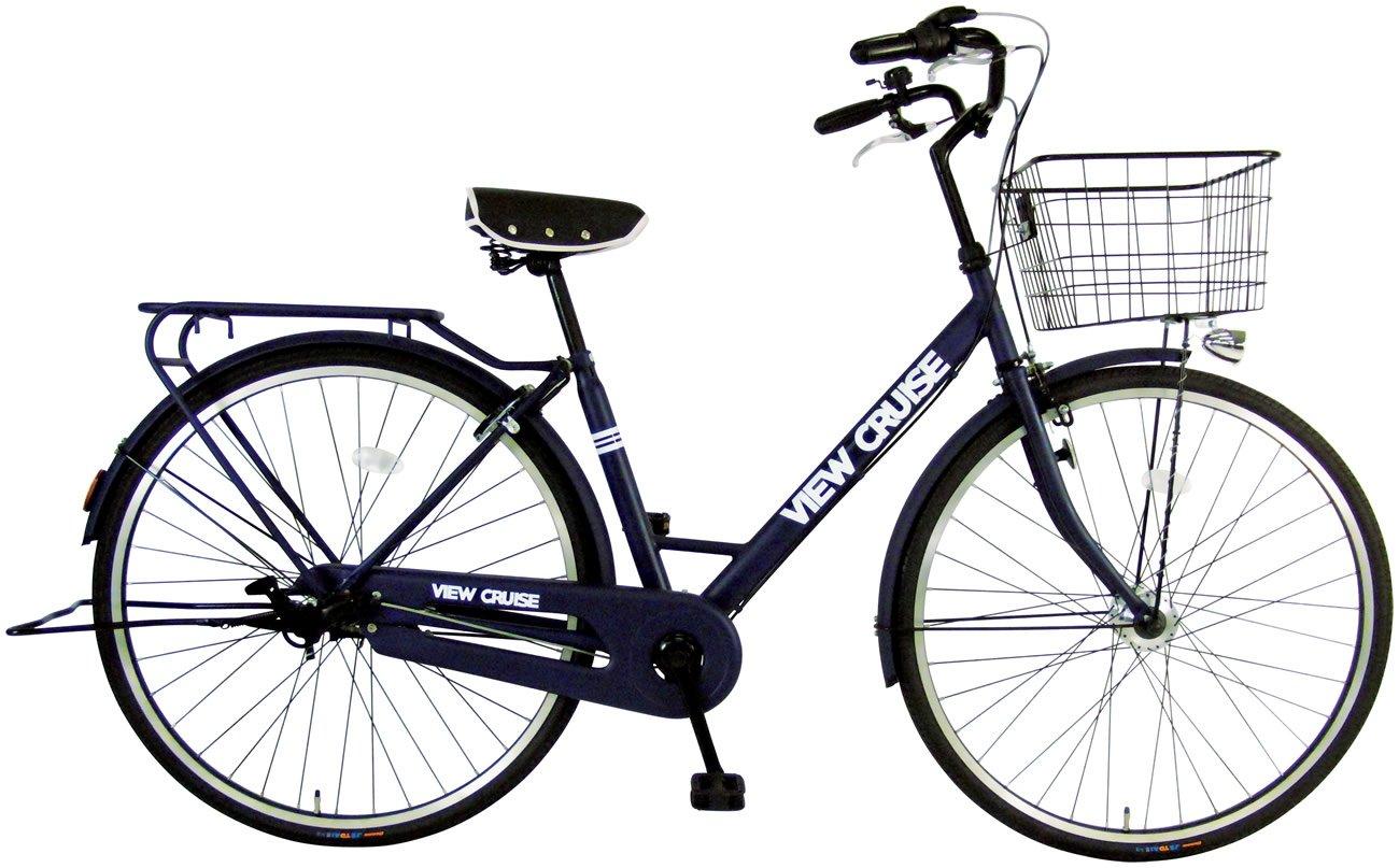 C.Dream(シードリーム) ビュークルーズ オートライト VC71-H 27インチ 自転車 シティサイクル ネイビー 100%組立済み発送 B0723G9NNR