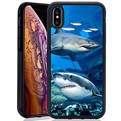 Amazon Com Sea Shark Case For Iphone Xs Max Tpu And Pc