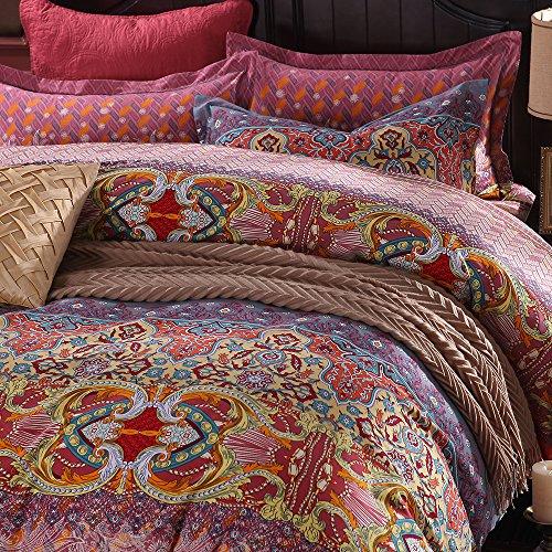 Dodou Boho Bedding Bohemian Bedding Exotic Bedding Cotton