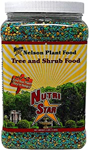 Nelson Trees and Shrubs Evergreens Plant Food In Ground Container Patio Grown Granular Fertilizer NutriStar 21-6-8 (4 lb)