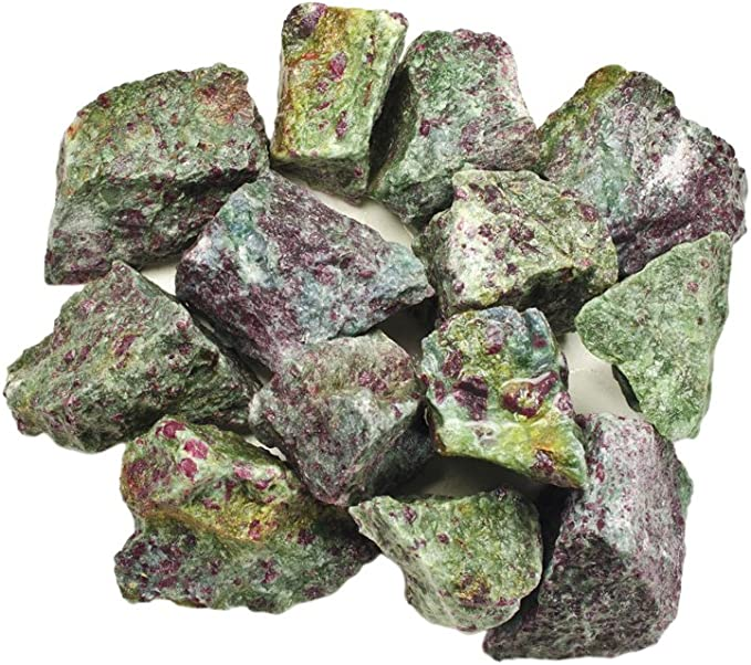 1//2lb Natural Tumbled Ruby Rough Crystal Gemstones Bulk Stone Raw Untreated Red