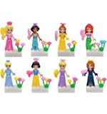 Girl Toys Beautiful Princess Building Blocks Minifigure Sets Compatible with Lego