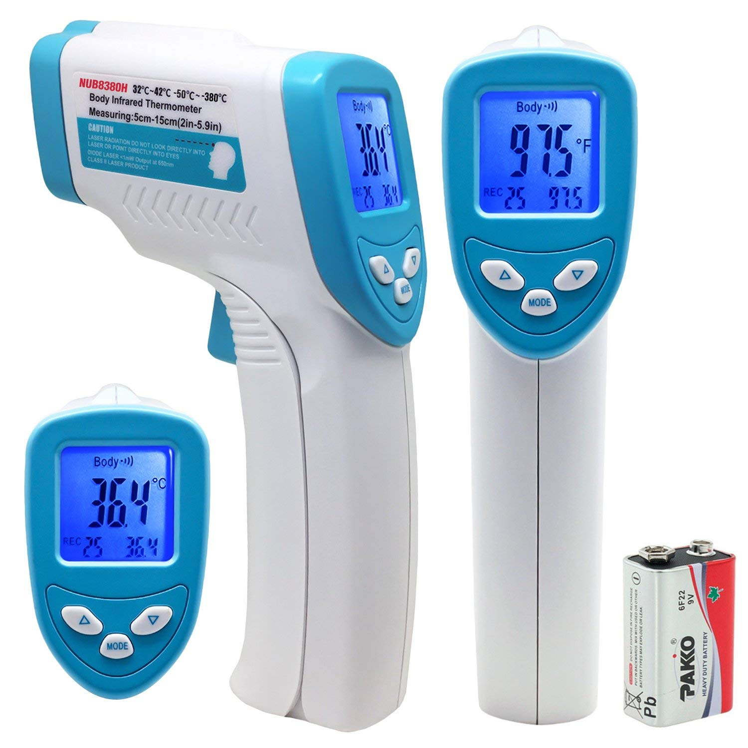 Nubee Body Medical Infrared Thermometer Non-contact IR Thermometer Forehead