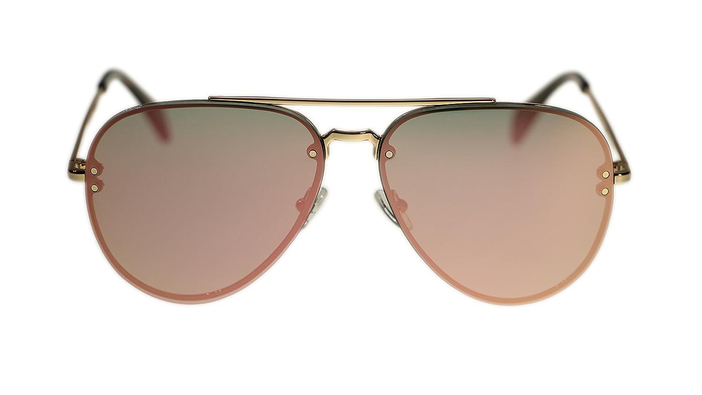 49814d44e27c Amazon.com  Celine Unisex Sunglasses Cl41392 J5G OJ Gold Grey Rose Gold  Aviator 58mm  Clothing