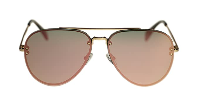 2ef07d69f29f Image Unavailable. Image not available for. Color  Celine Unisex Sunglasses  Cl41392 J5G OJ Gold Grey Rose Gold Aviator 58mm