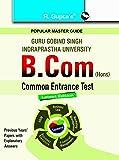 GGSIPU: B.Com (Hons.) Common Entrance Test Guide
