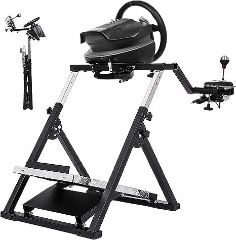 Soporte Volante Racing Negro Soporte Volante Racing Simulator para F458 Spider (Xbox One) T80 / T100 / RGT/Ferrari GT / F430 Logitech Stable Black (G27 G29 PS4 G920 T300RS 458): Amazon.es: Hogar