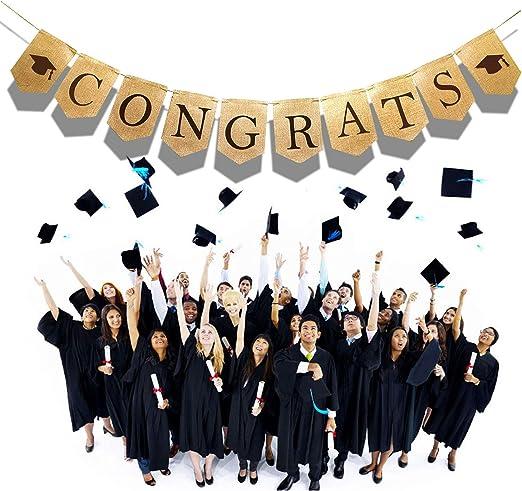 Congratulations Graduate Foil Party Banner 9ft