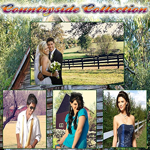 COUNTRYSIDE 70 Unique Digital Photo Backgrounds Photography Backdrops Wedding