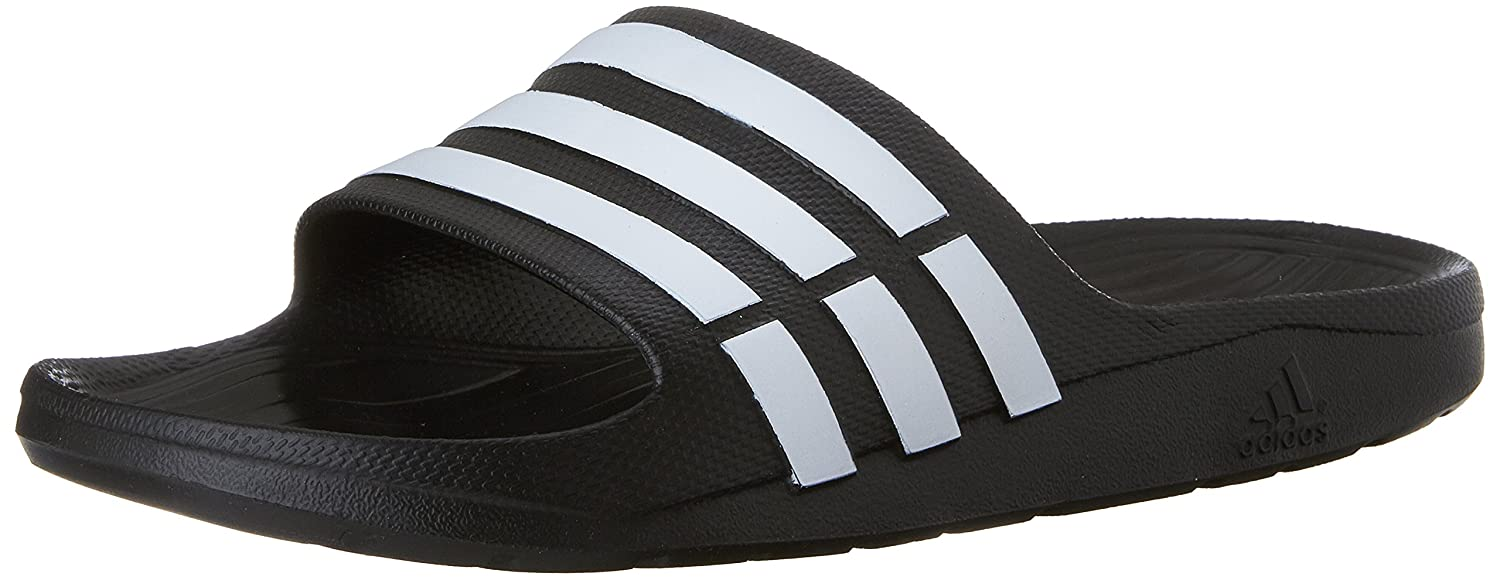 first rate 79afd 9808b Amazon.com   adidas Duramo Slide Sandal   Sport Sandals   Slides