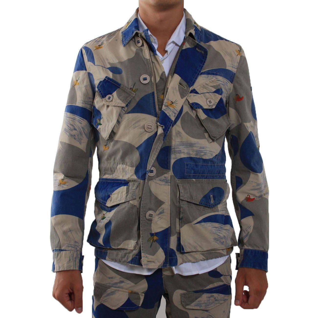 Jacke Herren Herren Jacke MBekleidung Ganesh Ganesh Sabbiablu kZXuiP