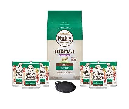 Amazoncom Nutro Dog Food Grain Free Adult Recipe With Lamb Rice