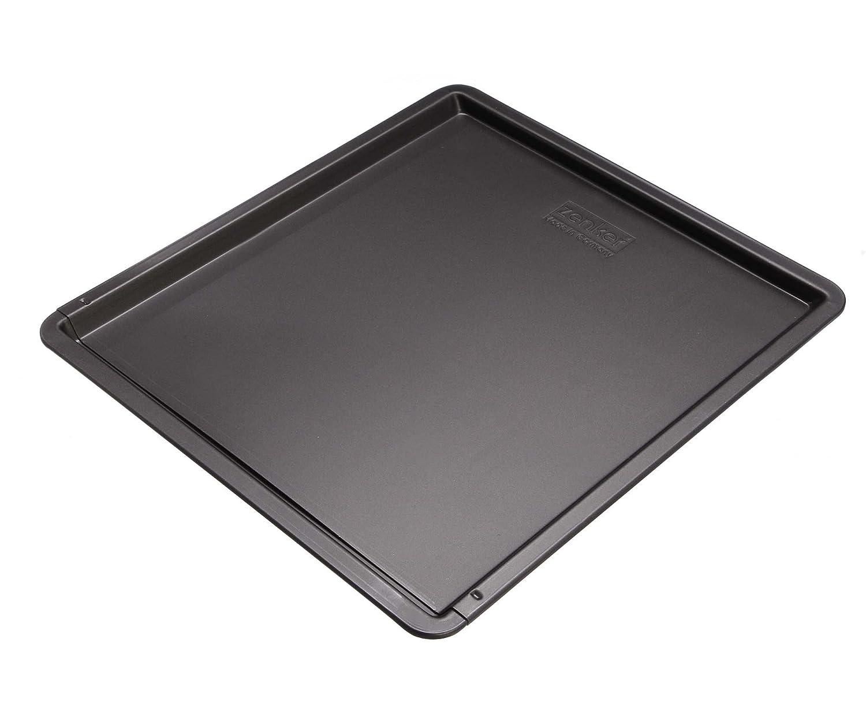 Zenker Backblech rechteckig (52-37 cm x 33 cm), Ofenblech, ausziehbar & verstellbar, ideal geeignet für Plätzchen & Blechkuchen, mit Antihaftbeschichtung 6537 6537_- Backen: Backbleche