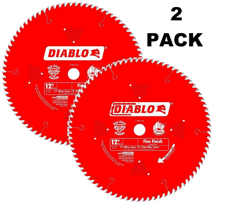 Hoja Sierra Diablo por Freud D1260X Ø305mm - 60 Dientes - eje 25mm para Acabado [2un]