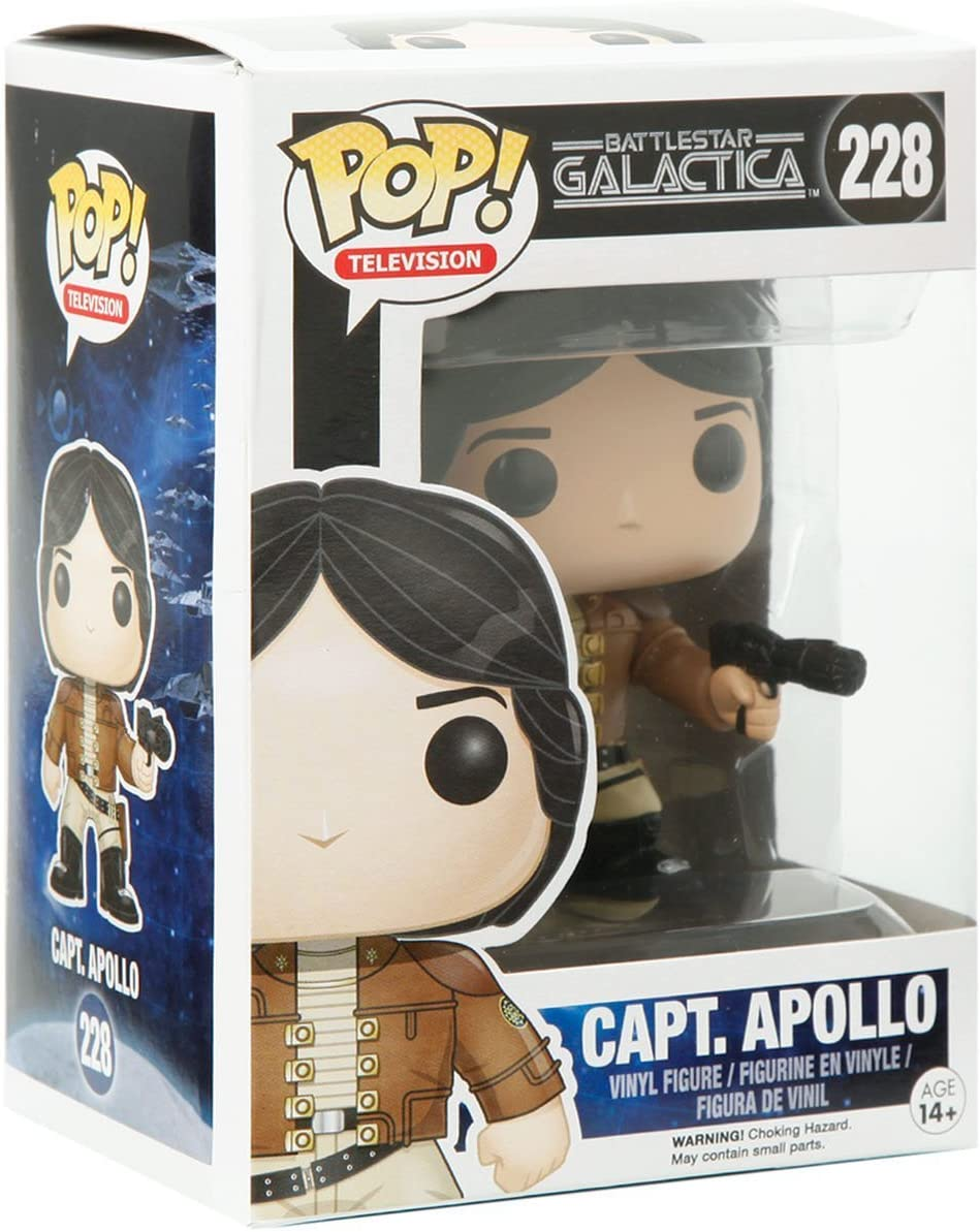 Includes Compatible Pop Box Protector Case Vinyl Figure Starbuck Pop Funko Battlestar Galactica: Lt