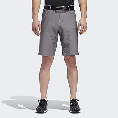 .com : adidas Men's Ultimate Heather 5 Pocket Short : Clothing