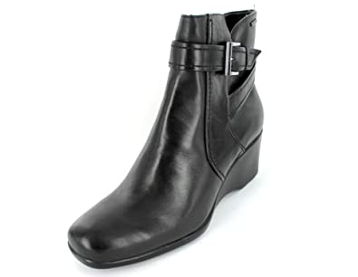 clarks wedge boots uk