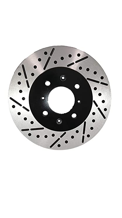 2007 2008 2009 For Suzuki SX4 Coated Front Disc Brake Rotors and Ceramic Pads
