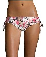 Calvin Klein Women's Cherry Blossoms Side-Tie Bikini Bottom