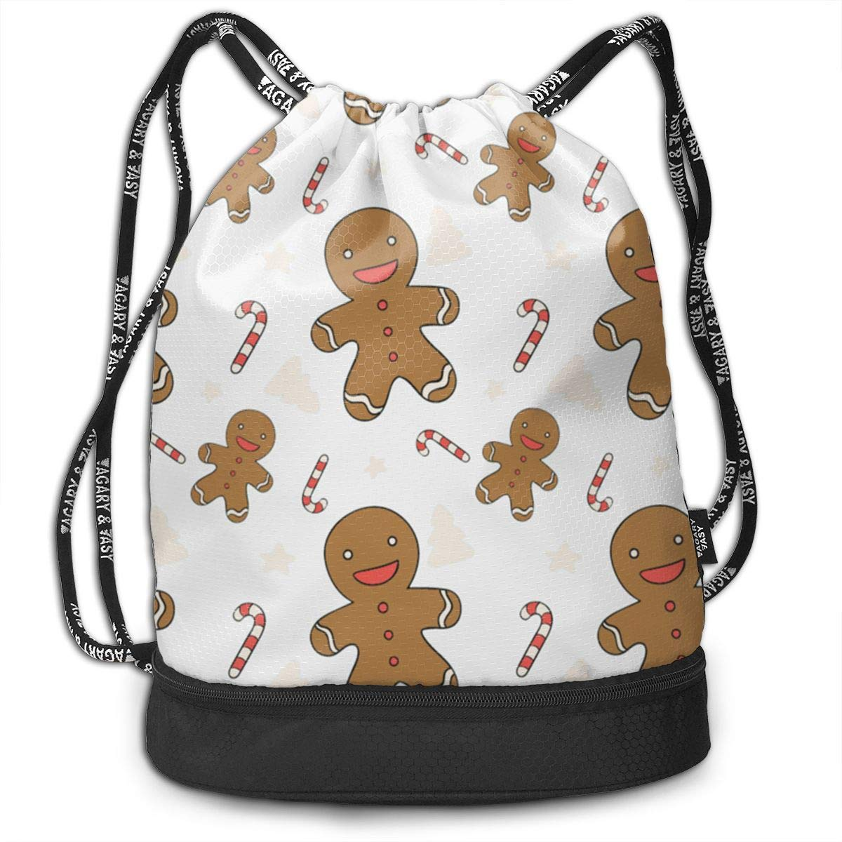 Personalized MONKEY Face Girl or Boy Drawstring BACKPACK Cinch Sack Tote Bag