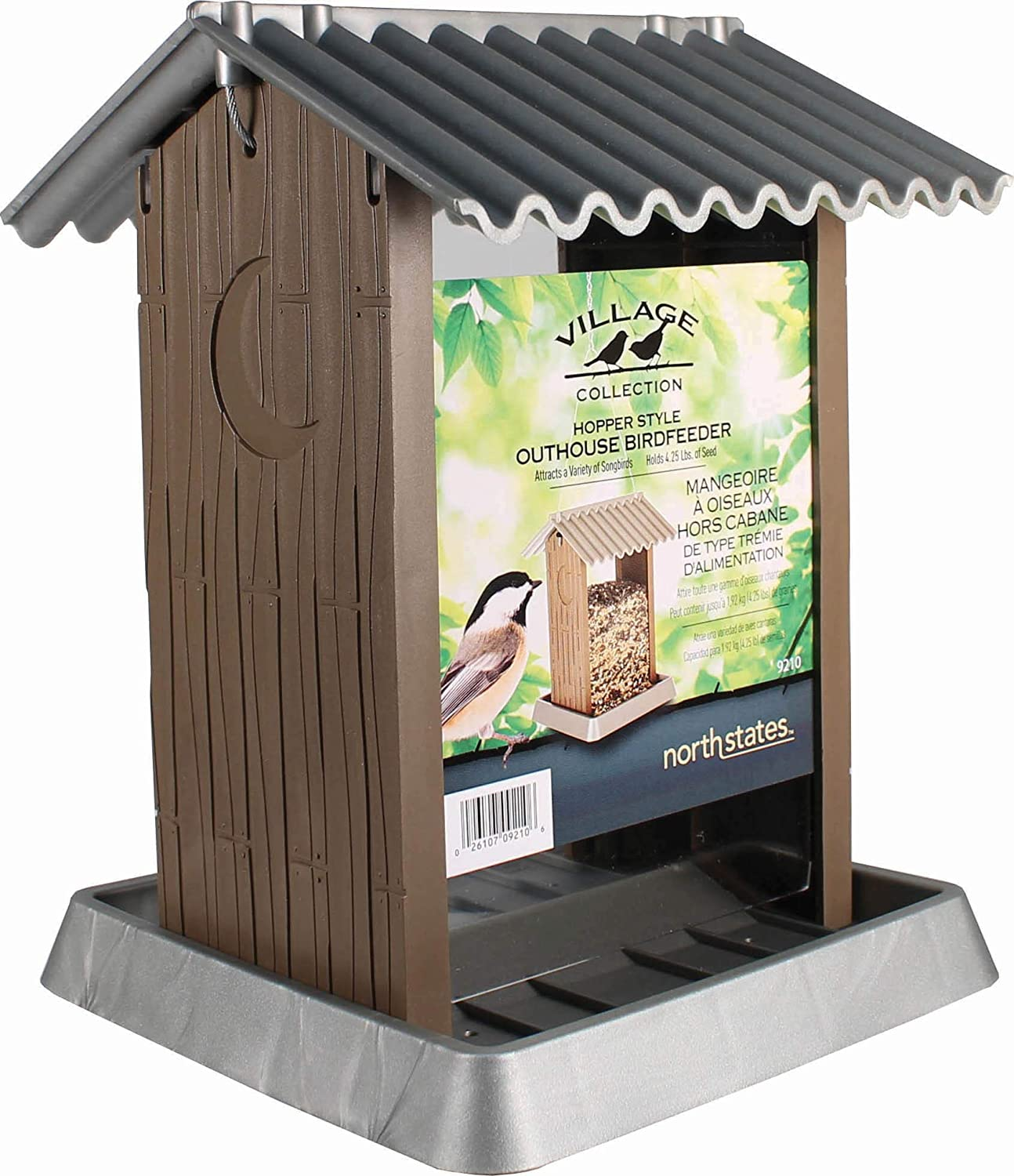 North States Industries 061085 Outhouse Bird Feeder 4.25 lbs.