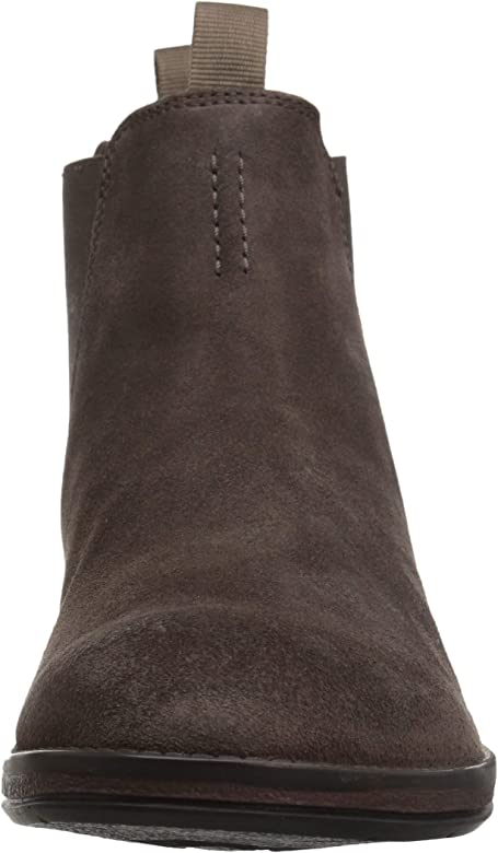 Hinman Chelsea Boots, Dark Taupe Suede