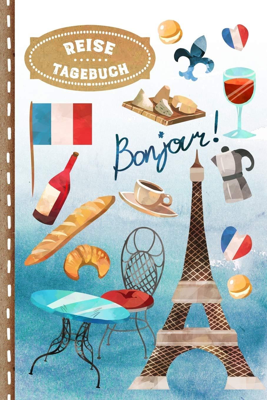 Notizbuch Tagebuch broschiert 98 Seiten aus Frankreich