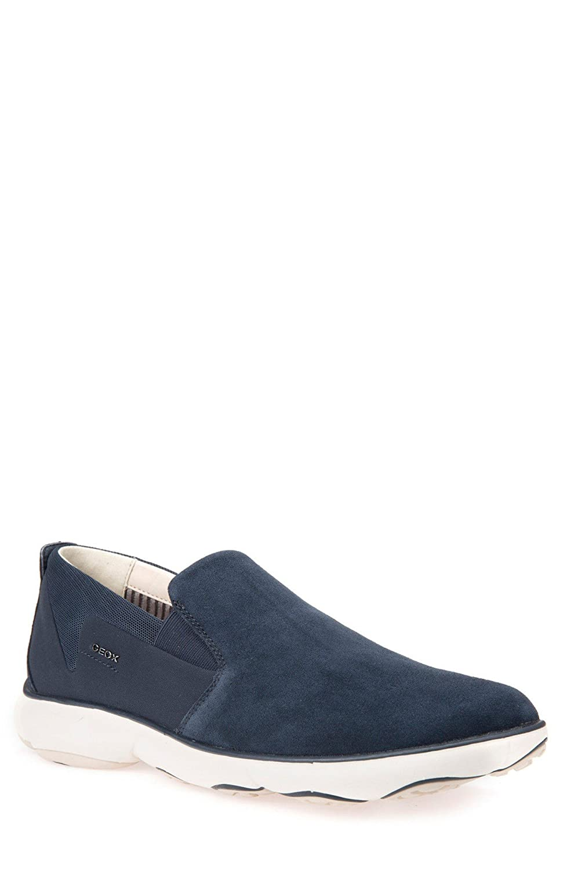 GEOX シューズ スニーカー Geox Nebula 44 Slip-On Sneaker (Men) Navy [並行輸入品] B0799KDVDZ