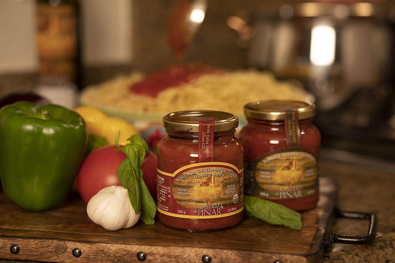 Amazon.com : Castillo De Pinar, Sauce Tomato Friada Casera, 350 Gram : Grocery & Gourmet Food