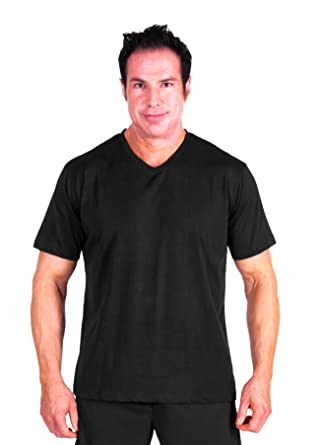 Cool-jams Moisture Wicking Men s Pajama Top Separate (M-XXL) at Amazon Men s  Clothing store  67724c51d