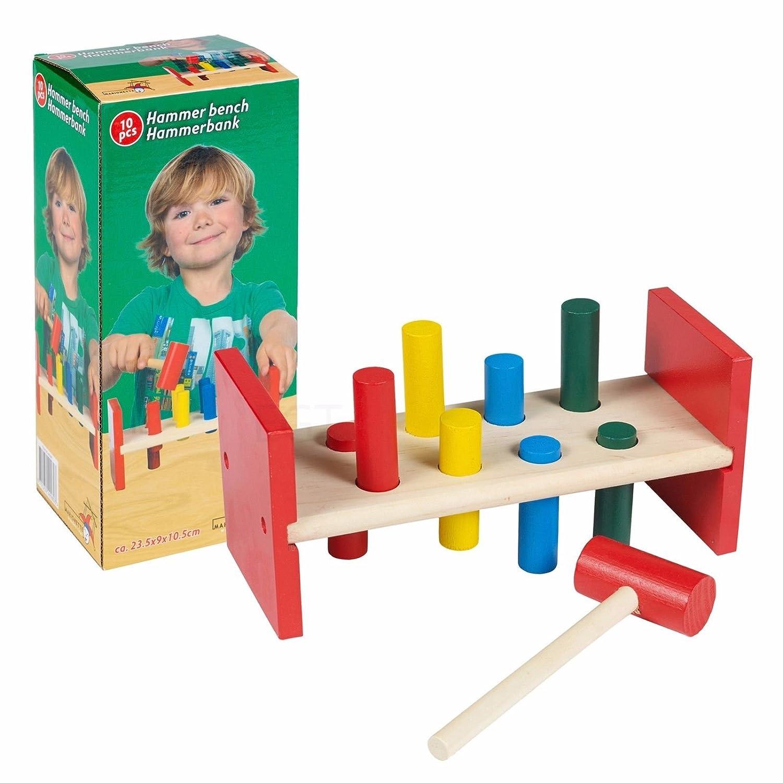 10Pc Kids Hammer Bench EASYGIFT