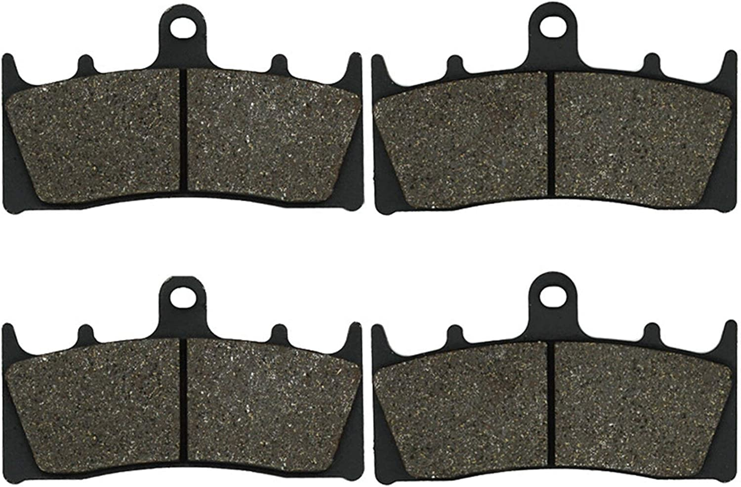 Amazon.com: Yerbay Motorcycle Front Brake Pads for Triumph