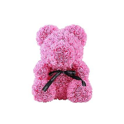 Image Unavailable  sc 1 st  Amazon.com & Amazon.com: Arilove Rose Teddy Bear Flower Forever Rose Luxury ...