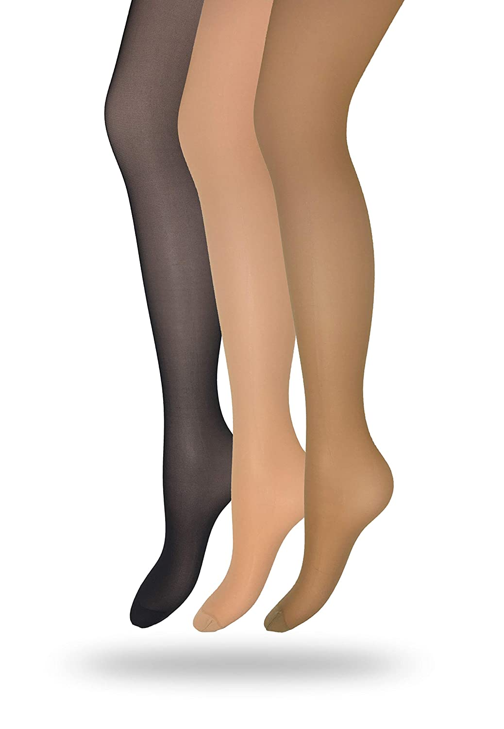 8ec4bfd6aca Eedor Women s 1 Pack Silky Control Top Reinforced Toe Sheer Pantyhose  Coffee 1 Pack coffee US A B (4 9