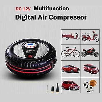 Portátil 12 V Mini compresor de aire neumático forma Digital Compresor De Aire Inflador eléctrico motocicleta bicicleta bomba de cama: Amazon.es: Coche y ...