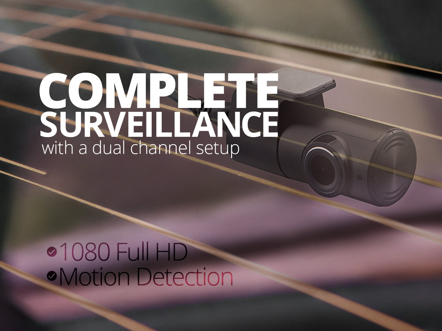 THINKWARE TW-F750D16 F750 2-Channel Dash Cam, 1080P HD Front & Rear, Sony Exmor Sensor, Wi-Fi, Dual Save Technology, Parking Mode, GPS, 16GB SD Card by Thinkware (Image #6)
