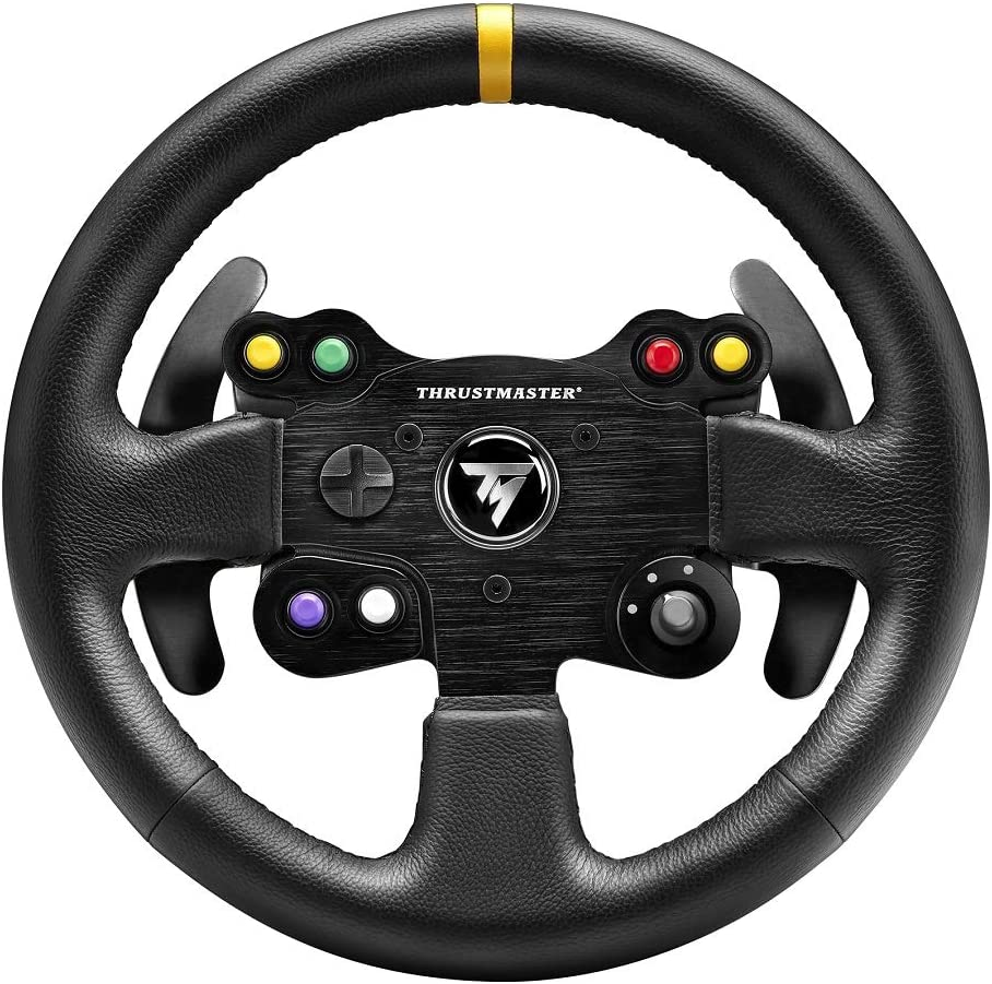 Thrustmaster TM Leather 28GT Wheel Add-on: Amazon.es: Electrónica