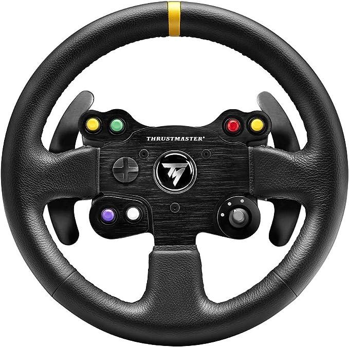 Thrustmaster TM Leather 28GT Wheel Add-on: Amazon.es: Electrónica