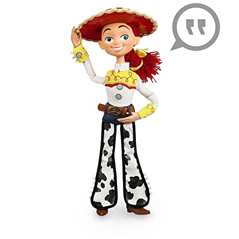 Disney Toy Story Exclusive Deluxe Talking Jessie Doll by Disney ... bac0eafc1a1